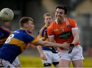 2 April 2017; Aidan Forker of Armagh in action against Liam Casey of Tipperary during the Allianz Football League Division 3 Round 7 match between Armagh and Tipperary at the Athletic Grounds in Armagh. Photo by Oliver McVeigh/Sportsfile