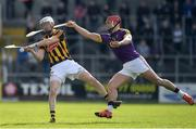2 April 2017; Lester Ryan of Kilkenny in action against Lee Chin of Wexford during the Allianz Hurling League Division 1 Quarter-Final match between Kilkenny and Wexford at Nowlan Park in Kilkenny. Photo by Brendan Moran/Sportsfile