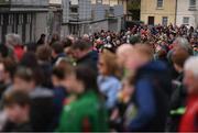 2 April 2017; Supporters queue to purchase tickets and enter the ground prior to the Allianz Football League Division 1 Round 7 match between Mayo and Donegal at Elverys MacHale Park in Castlebar, Mayo. Photo by Stephen McCarthy/Sportsfile