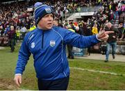 2 April 2017; Waterford manager Derek McGrath after the Allianz Hurling League Division 1 Quarter-Final match between Galway and Waterford at Pearse Stadium in Galway. Photo by Piaras Ó Mídheach/Sportsfile