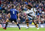 1 April 2017; Ashley Johnson of Wasps during the European Rugby Champions Cup Quarter-Final match between Leinster and Wasps at Aviva Stadium in Dublin. Photo by Ramsey Cardy/Sportsfile