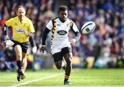 1 April 2017; Christian Wade of Wasps during the European Rugby Champions Cup Quarter-Final match between Leinster and Wasps at Aviva Stadium in Dublin. Photo by Ramsey Cardy/Sportsfile
