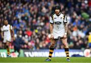 1 April 2017; Danny Cipriani of Wasps during the European Rugby Champions Cup Quarter-Final match between Leinster and Wasps at Aviva Stadium in Dublin. Photo by Ramsey Cardy/Sportsfile