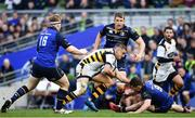 1 April 2017; Jimmy Gopperth of Wasps in action against James Tracy, left, and Luke McGrath of Leinster during the European Rugby Champions Cup Quarter-Final match between Leinster and Wasps at Aviva Stadium in Dublin. Photo by Ramsey Cardy/Sportsfile