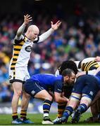 1 April 2017; Dan Robson of Wasps during the European Rugby Champions Cup Quarter-Final match between Leinster and Wasps at Aviva Stadium in Dublin. Photo by Ramsey Cardy/Sportsfile