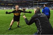 17 March 2017; Colm Cooper of Dr. Crokes celebrates with manager Pat O'Shea at the final whistle of the AIB GAA Football All-Ireland Senior Club Championship Final match between Dr. Crokes and Slaughtneil at Croke Park in Dublin. Photo by Brendan Moran/Sportsfile