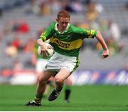 2 September 2001; Colm Cooper, Kerry minor. Football. Picture credit; Brendan Moran / SPORTSFILE