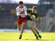 3 April 2005; Colm Cooper, Kerry, in action against Ryan McMenamin, Tyrone. Allianz National Football League, Division 1A, Kerry v Tyrone, Fitzgerald Stadium, Killarney, Co. Kerry. Picture credit; Brendan Moran / SPORTSFILE