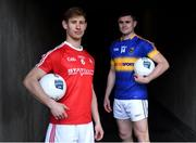 5 April 2017; Anthony Williams of Louth, left, and Michael Quinlivan of Tipperary in attendance during an Allianz Football League Media Event at Croke Park in Dublin, ahead of their Allianz Football League match in Croke Park this coming Saturday. Photo by David Fitzgerald/Sportsfile