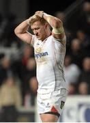 7 April 2017; A disappointed Stuart Olding of Ulster at the end of the Guinness PRO12 Round 19 match between Ulster and Cardiff Blues at the Kingspan Stadium in Belfast.  Photo by Oliver McVeigh/Sportsfile