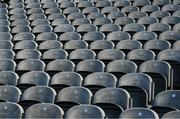 8 April 2017; Seats in the Cusack Stand await the arrival of supporters prior to the Allianz Football League Division 3 Final match between Louth and Tipperary at Croke Park in Dublin. Photo by Brendan Moran/Sportsfile