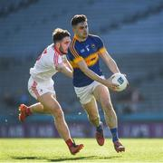 8 April 2017; Michael Quinlivan of Tipperary in action against Patrick Reilly of Louth during the Allianz Football League Division 3 Final match between Louth and Tipperary at Croke Park in Dublin. Photo by Ray McManus/Sportsfile