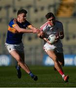 8 April 2017; Andy McDonnell of Louth in action against Jack Kennedy of Tipperary during the Allianz Football League Division 3 Final match between Louth and Tipperary at Croke Park in Dublin. Photo by Brendan Moran/Sportsfile