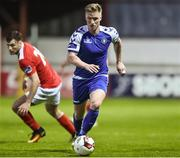 7 April 2017; Paul O'Connor of Limerick FC in action against St Patrick's Athletic during the SSE Airtricity League Premier Division match between St Patrick's Athletic and Limerick FC at Richmond Park in Dublin. Photo by Matt Browne/Sportsfile