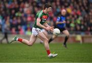 2 April 2017; Brendan Harrison of Mayo during the Allianz Football League Division 1 Round 7 match between Mayo and Donegal at Elverys MacHale Park in Castlebar, Co Mayo. Photo by Stephen McCarthy/Sportsfile
