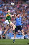 9 April 2017; Paul Flynn of Dublin in action against Jack Barry of Kerry during the Allianz Football League Division 1 Final match between Dublin and Kerry at Croke Park in Dublin. Photo by Stephen McCarthy/Sportsfile