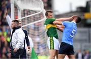 9 April 2017; Donnchadh Walsh of Kerry and James McCarthy of Dublin during the Allianz Football League Division 1 Final match between Dublin and Kerry at Croke Park in Dublin. Photo by Stephen McCarthy/Sportsfile