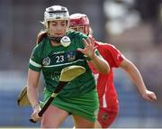 9 April 2017; Mairead Fitzgerald of Limerick in action against Libby Coppinger of Cork during the Littlewoods National Camogie League semi-final match between Cork and Limerick at Pairc Ui Rinn, in Cork. Photo by Matt Browne/Sportsfile