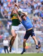 9 April 2017; Jack Barry of Kerry in action against Paul Flynn of Dublin during the Allianz Football League Division 1 Final between Dublin and Kerry at Croke Park in Dublin. Photo by Ramsey Cardy/Sportsfile