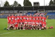 9 April 2017; The Cork Squad before the Littlewoods National Camogie League semi-final match between Cork and Limerick at Pairc Ui Rinn, in Cork. Photo by Matt Browne/Sportsfile
