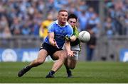 9 April 2017; Ciaran Kilkenny of Dublin is tackled by Paul Murphy of Kerry during the Allianz Football League Division 1 Final between Dublin and Kerry at Croke Park in Dublin. Photo by Ramsey Cardy/Sportsfile