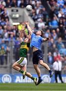9 April 2017; Paul Flynn of Dublin in action against Peter Crowley of Kerry during the Allianz Football League Division 1 Final between Dublin and Kerry at Croke Park in Dublin. Photo by Ramsey Cardy/Sportsfile