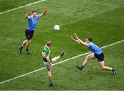 9 April 2017; Donnchadh Walsh of Kerry in action against Brian Fenton and Paul Flynn of Dublin during the Allianz Football League Division 1 Final match between Dublin and Kerry at Croke Park, in Dublin. Photo by Ray McManus/Sportsfile
