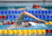9 April 2017; Nathan Turner of Aer Lingus Swim Club, Co. Dublin, on his way to winning the Men's 800m Freestyle Final during the 2017 Irish Open Swimming Championships at the National Aquatic Centre in Dublin. Photo by Seb Daly/Sportsfile