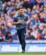 9 April 2017; Dublin forwards coach Jason Sherlock during the Allianz Football League Division 1 Final between Dublin and Kerry at Croke Park in Dublin. Photo by Ramsey Cardy/Sportsfile