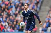 9 April 2017; Stephen Cluxton of Dublin during the Allianz Football League Division 1 Final between Dublin and Kerry at Croke Park in Dublin. Photo by Ramsey Cardy/Sportsfile