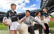 10 April 2017; In attendance at the launch of the Littlewoods Ireland GAA Go Games Provincial Days in Croke Park are Kerry footballer Donnchadh Walsh and Conor Curran. At the event Littlewoods Ireland were joined by their ambassador and Waterford hurler Austin Gleeson, Dublin Ladies footballer Noelle Healy, Kildare camogie player Siobhan Hurley and Kerry footballer Donnchadh Walsh. The GAA Go Games Provincial Days is an initiative which will see 7,000 children take part in mini versions of hurling and football blitzes over the course of two weeks in April. As part of the sponsorship, a special Littlewoods Ireland Lounge was installed in Croke Park for the Go Games. Photo by Ramsey Cardy/Sportsfile