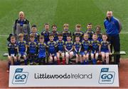 10 April 2017; The St. Francis Dromard team, Co. Longford, during day 1 of The Go Games Provincial Days in partnership with Littlewoods Ireland at Croke Park in Dublin. Photo by Ramsey Cardy/Sportsfile