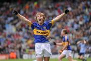 18 September 2011; Adrian Maguire, Tipperary, celebrates his side's victory. GAA Football All-Ireland Minor Championship Final, Tipperary v Dublin, Croke Park, Dublin. Picture credit: Stephen McCarthy / SPORTSFILE