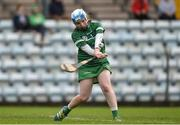 9 April 2017; Claire Keating of Limerick during the Littlewoods National Camogie League semi-final match between Cork and Limerick at Pairc Ui Rinn, in Cork. Photo by Matt Browne/Sportsfile
