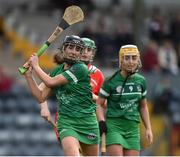 9 April 2017; Mairead Ryan of Limerick during the Littlewoods National Camogie League semi-final match between Cork and Limerick at Pairc Ui Rinn, in Cork. Photo by Matt Browne/Sportsfile