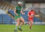 9 April 2017; Fiona Hickey of Limerick during the Littlewoods National Camogie League semi-final match between Cork and Limerick at Pairc Ui Rinn, in Cork. Photo by Matt Browne/Sportsfile