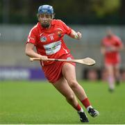 9 April 2017; Orla Cronin of Cork during the Littlewoods National Camogie League semi-final match between Cork and Limerick at Pairc Ui Rinn, in Cork. Photo by Matt Browne/Sportsfile