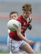 13 April 2017; Conor Nolan representing Balla GAA Club, Co. Mayo in action against Max Bennett representing Kiltimagh GAA Club, Co. Mayo, during the Go Games Provincial Days in partnership with Littlewoods Ireland Day 4 at Croke Park in Dublin. Photo by Eóin Noonan/Sportsfile