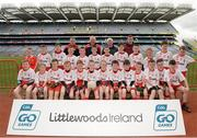 13 April 2017; Players representing Killererin GAA Club, Co. Galway, during the Go Games Provincial Days in partnership with Littlewoods Ireland Day 4 at Croke Park in Dublin. Photo by Seb Daly/Sportsfile
