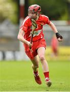 9 April 2017; Katriona Mackey of Cork during the Littlewoods National Camogie League semi-final match between Cork and Limerick at Pairc Ui Rinn, in Cork. Photo by Matt Browne/Sportsfile