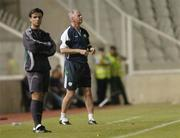 7 October 2006; Republic of Ireland's senior team coach Kevin MacDonald during the game. Euro 2008 Championship Qualifier, Cyprus v Republic of Ireland, GSP Stadium, Nicosia, Cyprus. Picture credit: Brian Lawless / SPORTSFILE