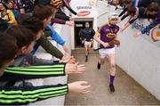 16 April 2017; Liam Ryan of Wexford runs out before the Allianz Hurling League Division 1 Semi-Final match between Wexford and Tipperary at Nowlan Park in Kilkenny. Photo by Stephen McCarthy/Sportsfile