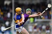 16 April 2017; Padraic Maher of Tipperary in action against Aidan Nolan of Wexford during the Allianz Hurling League Division 1 Semi-Final match between Wexford and Tipperary at Nowlan Park in Kilkenny. Photo by Ramsey Cardy/Sportsfile
