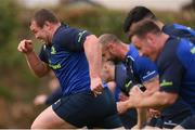 17 April 2017; Jack McGrath of Leinster during squad training at UCD, Dublin. Photo by Stephen McCarthy/Sportsfile