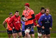 17 April 2017; Donnacha Ryan of Munster during squad training at the University of Limerick in Limerick. Photo by Diarmuid Greene/Sportsfile