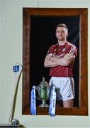 18 April 2017; In attendance at the Allianz Hurling League Division 1 Final Preview in Croke Park is Galway's Aidan Harte. This year, Allianz celebrates 25 years of sponsoring the Allianz Leagues. Visit www.allianz.ie for more information. Photo by Ramsey Cardy/Sportsfile
