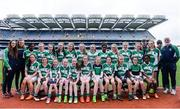 18 April 2017; The Clonguish team, Co Longford, during the Gaelic4Teens Activity Day at Croke Park in Dublin. Photo by Sam Barnes/Sportsfile