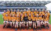 18 April 2017; The Crosserlough team, Co Cavan, during the Gaelic4Teens Activity Day at Croke Park in Dublin. Photo by Sam Barnes/Sportsfile