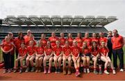18 April 2017; The Mungret St. Paul's GAA Team, Co Limerick, during the Gaelic4Teens Activity Day at Croke Park in Dublin. Photo by Sam Barnes/Sportsfile