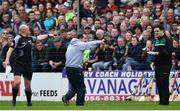 16 April 2017; Wexford manager Davy Fitzgerald appeals to an offical during the Allianz Hurling League Division 1 Semi-Final match between Wexford and Tipperary at Nowlan Park in Kilkenny. Photo by Ramsey Cardy/Sportsfile